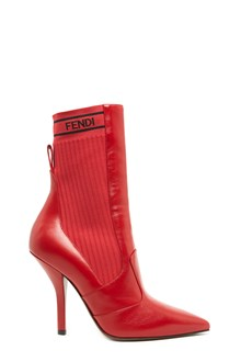 FENDI logo socks ankle boots