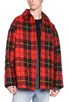 BALENCIAGA check jacket