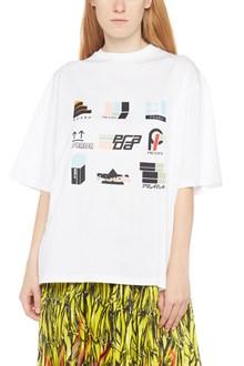 PRADA 'stickers oma x' t-shirt