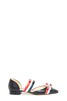 THOM BROWNE bow ballet flats