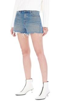 DENIM X ALEXANDER WANG 'bite' shorts