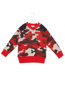 BURBERRY camouflage sweater