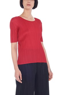 PLEATS PLEASE ISSEY MIYAKE 'monthly colors' top
