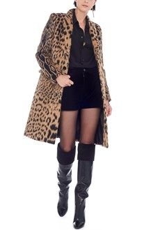 SAINT LAURENT animalier coat