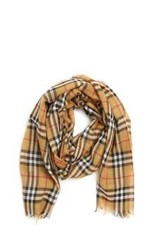 BURBERRY 'vintage check' scarf