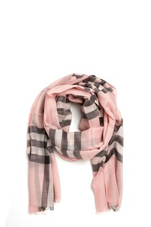 BURBERRY 'gauze giant check' scarf