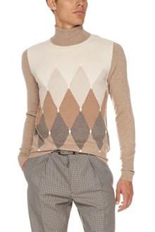 BALLANTYNE dyamond pattern sweater