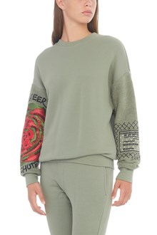 MR & MRS ITALY embroidered sweatshirt