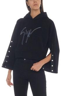 GIUSEPPE ZANOTTI logo hoodie
