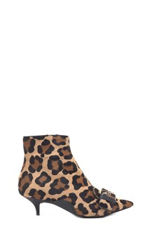 N°21 animalier anckle boots