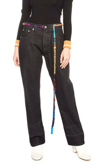 LOEWE belt details jeans