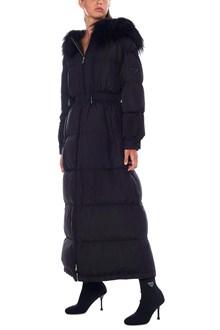 PRADA LINEA ROSSA long down jacket