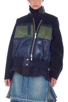 SACAI multimaterial jacket
