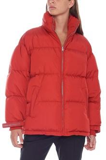 PRADA LINEA ROSSA oversize down jacket
