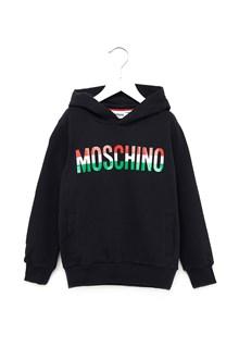 MOSCHINO felpa logo italia