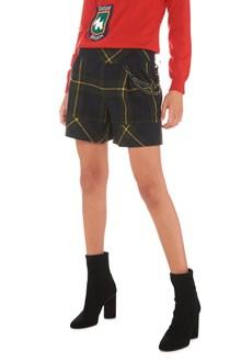 BOUTIQUE MOSCHINO tartan shorts