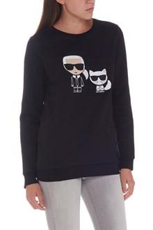KARL LAGERFELD 'karl & choupette' sweatshirt