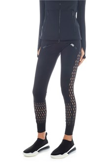 ADIDAS BY STELLA MCCARTNEY leggings inserti traforati
