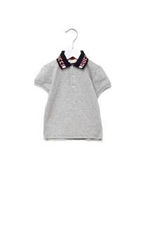 GUCCI logo neckline polo