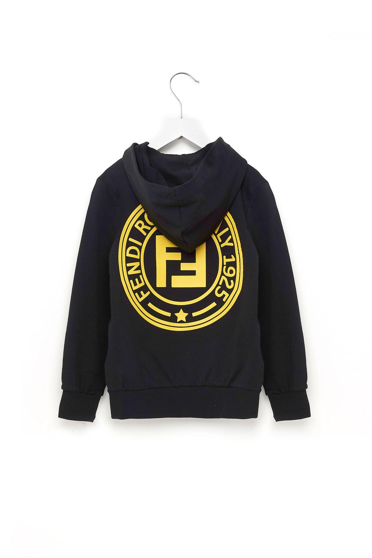 fendi kids logo hoodie available on julian-fashion.com - 56771 3bb55c7193ca