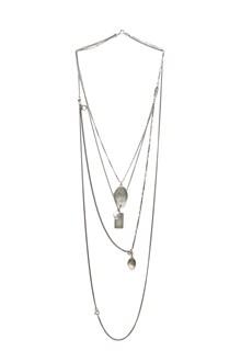ANN DEMEULEMEESTER medallion necklace