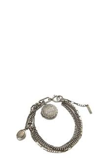 ANN DEMEULEMEESTER medallion bracelet
