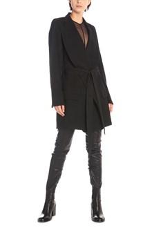 ANN DEMEULEMEESTER belt coat