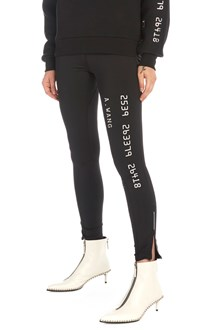 ALEXANDER WANG reflective printed leggings