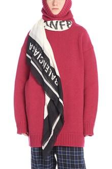 BALENCIAGA removable foulard sweater