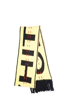 OFF-WHITE 'industrial' scarf from off-white: lapin logo 'industrial' scarf