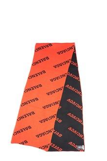 BALENCIAGA all over logo scarf