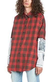 BALENCIAGA camicia check