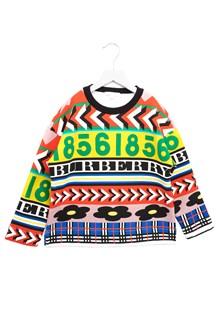 BURBERRY 'racing' sweatshirt