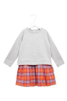 BURBERRY pleated skirt dress