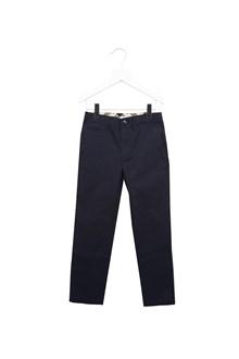 BURBERRY pantalone risvolto check