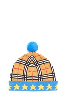 BURBERRY berretta pom pom