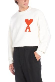 AMI ALEXANDRE MATTIUSSI logo sweater
