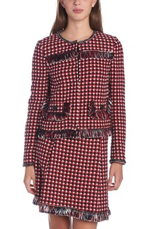 BOUTIQUE MOSCHINO tweed jacket