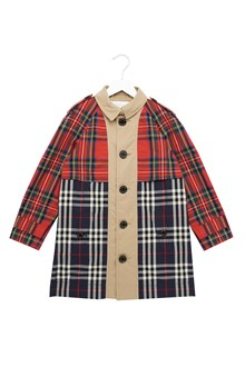BURBERRY trench patchwork