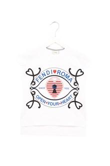 FENDI 'open your heart' t-shirt
