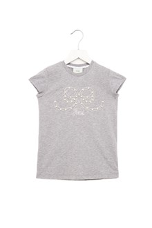 FENDI pearls bow t-shirt