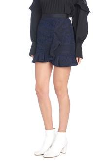 SELF PORTRAIT lace skirt