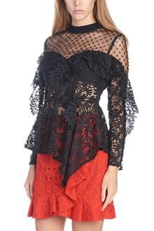SELF PORTRAIT lace top