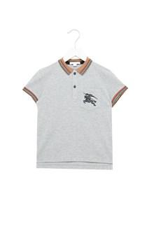 BURBERRY polo colletto check