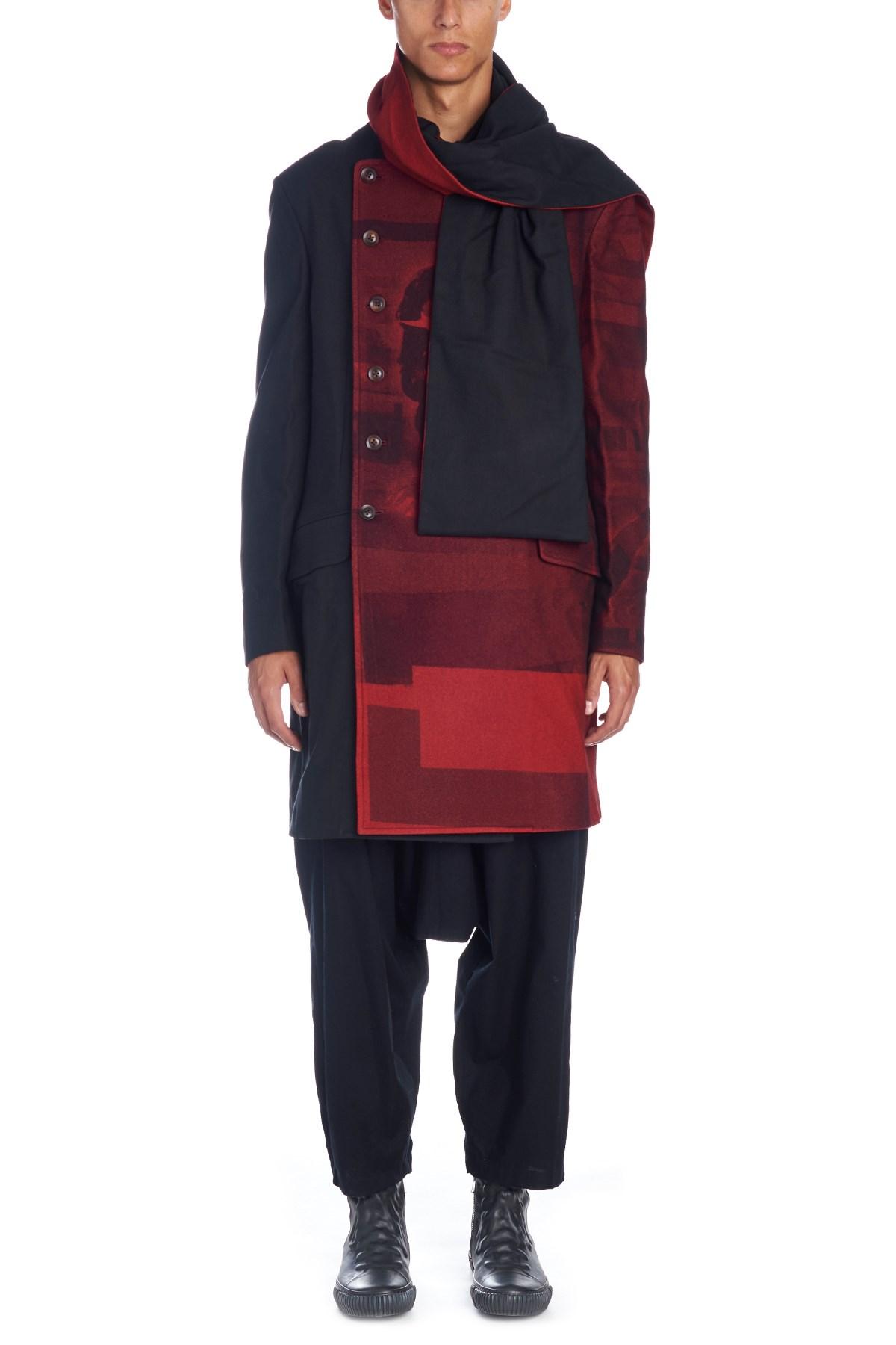 17399297e9f2 yohji yamamoto coat with stole available on julian-fashion.com - 58143