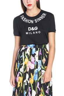 DOLCE & GABBANA 'fashion sinner' t-shirt