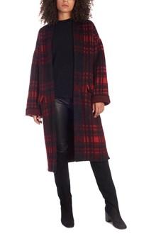 LANEUS check coat