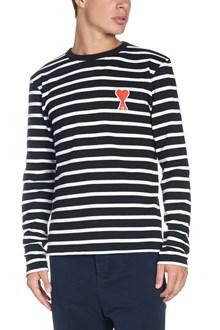AMI ALEXANDRE MATTIUSSI stripes t-shirt