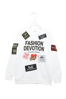 DOLCE & GABBANA 'fashion devotion' sweatshirt