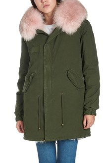 MR & MRS ITALY reversible parka